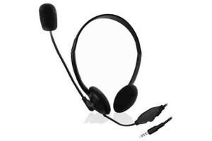 Mikrofonos fejhallgató