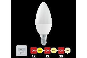 Szabályozható LED fényforrás