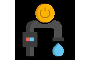 Víz/Gáz szivárgás érzékelő