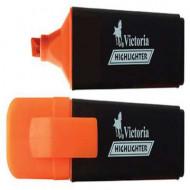 """Szövegkiemelő, 1-5 mm, VICTORIA """"Color 100"""", narancssárga"""