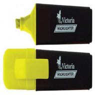 "Szövegkiemelő, 1-5 mm, VICTORIA ""Color 100"", sárga"