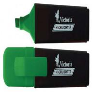 "Szövegkiemelő, 1-5 mm, VICTORIA ""Color 100"", zöld"