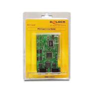 DELOCK PCI Card 4x Serial (RS-232) port