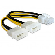 DELOCK PCI Express (8 tus - 2 db 4tus kábel grafikus kártyákhoz)