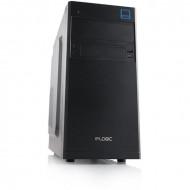 "Modecom Logic M4 Mini USB3.0 Black Black,1x5,25"",1x3,5"",microATX,1xUsb,Audio,Táp nélkül,170x370x360mm,1xUSB3.0"