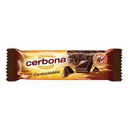 Müzliszelet, 20 g, CERBONA, csokoládés