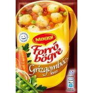"""Instant leves, MAGGI """"Forró Bögre"""", grízgombóc."""