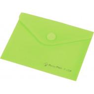 Irattartó tasak, A6, PP, patentos, PANTA PLAST, pasztell zöld