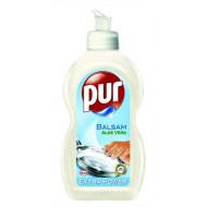 """Mosogatószer, 450 ml, PUR EXTRA """"Balsam"""" aloe vera"""