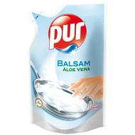 """Mosogatószer, utántöltő, 450 ml, PUR EXTRA """"Balsam""""  aloe vera"""