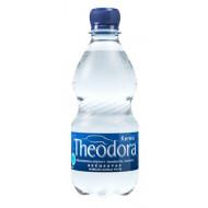 Ásványvíz, szénsavas, 0,33 l, pet palack, THEODORA