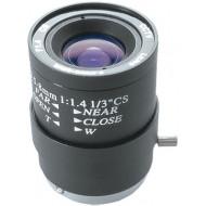 FEIHUA FH-03508M 3.5-8mm, 80°-36°, F/1.4, 1/3 col, kézi állítású írisz, CS, 33.5x48mm.