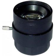 FEIHUA FH-0410F-MP 4mm, 55.8°, F/1.0, 1/3 col, fix írisz, CS, IR szűrő, Megapixel.