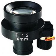 FEIHUA FH-0412BD 4mm, 62,24°, F/1.2, 1/3 col, DC vezérelt írisz, M12x0.5.