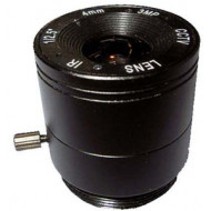 FEIHUA FH-0414F-3MP 4mm, 102°, F/1.4, 1/2.5 col, fix írisz, CS, IR szűrő, 3 Megapixel.