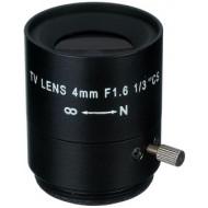 FEIHUA FH-0416F 4mm, 72°, F/1.6, 1/3 col, fix írisz, CS.
