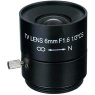 FEIHUA FH-0616F 6mm, 49.6°, F/1.6, 1/3 col, fix írisz, CS.