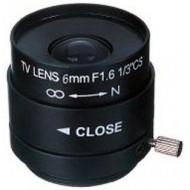 FEIHUA FH-0616M 6mm, 51.2°, F/1.6, 1/3 col, kézi állítású írisz, CS.