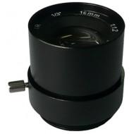 FEIHUA FH-1612F-IR 16mm, 17°, F/1.2, 1/3 col, fix írisz, CS, IR szűrő.