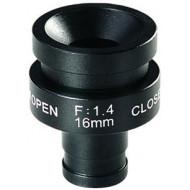 FEIHUA FH-1614BD 16mm, 22,12°, F/1.4, 1/3 col, DC vezérelt írisz, M12x0.5.