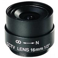 FEIHUA FH-1618F 16mm, 21°, F/1.8, 1/3 col, fix írisz, CS.