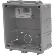 Golmar CE610 Süllyesztett, műanyag kültéri doboz, Golmar moduláris és NX sorozatú kaputelefonhoz.