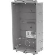 Golmar CE615 Süllyesztett, műanyag kültéri doboz, kompakt méretű Golmar moduláris kaputelefonhoz