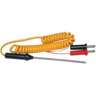 HOLDPEAK K hőmérő szonda NTC hőmérő szonda HOLDPEAK multiméterekhez, -20°C/+1000°C.