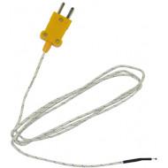 HOLDPEAK K mini hőmérő szonda NTC hőmérő szonda HOLDPEAK multiméterekhez, -20°C/+400°C.
