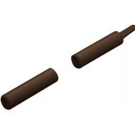 HTN PS-902 MW barna Befúrható, 6.4 mm-es, vezetékkel, NC kontaktus.