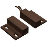 HTN PS-906 MW barna Felcsavarozható, rögzítőfüles, műanyagházas, vezetékkel, NC kontaktus, barna.