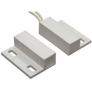 HTN PS-906 MW fehér Felcsavarozható, rögzítőfüles, műanyagházas, vezetékkel, NC kontaktus.