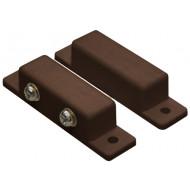 HTN PS-908 M SCW barna Felcsavarozható, rögzítőfüles, műanyagházas, sorkapcsos, NC, barna.