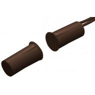 HTN PS-915 MW A barna Befúrható, rövid, 9 mm-es, vezetékkel, NC kontaktus, barna.