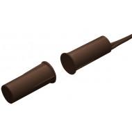 HTN PS-915 MW B barna Befúrható, hosszú, 9 mm-es, vezetékkel, NC kontaktus, barna.