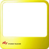 HYUNDAI Extra Window Frame Yellow Sárga színű cserélhető előlap Hyundai HA-300 és HAC-300 beltériegységekhez.