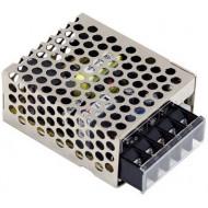 Mean Well RS-15-5 Kapcsolóüzemű tápegység, 5 VDC, 0-3 A, 15 W.