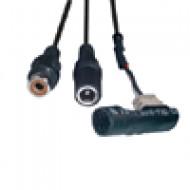 MH 5015 mini microphone Miniatűr mikrofon modul, 20-16000Hz, táp és RCA csatlakozó, 12VDC.