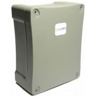 NOLOGO BOX-2 Műanyag, elektromos szerelődoboz, IP55, 115mm x 165mm x 65mm.