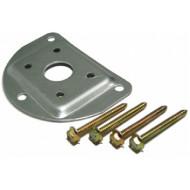 NOLOGO COLL-BA Fém szerelőlemez és csavarkészlet NOLOGO COLL típusú infrasorompó tartó oszlopokhoz.