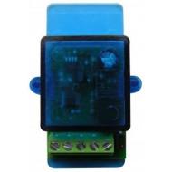 NOLOGO RX1E 1 csatornás vevő, 868MHz, 12-64bit fix-/HCS ugrókód, mono/bistabil,NO kimenet,12/24VAC/DC.