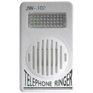 RINGER JW-102 Hang és fényjelző, ki-be kapcsolási lehetőség, állítható hangerő, glimm izzós villogóval