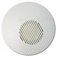 SATEL SPW-100 Piezo beltéri sziréna, 3 hangú, 120dB, szabotázsvédett, fehér, kör alakú, 12VDC.