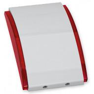 SATEL SPW-210 R piros Beltéri sziréna, 3 különböző hang, szabotázsvédett, 12VDC, piros.