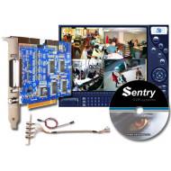 SENTRY 2004 4 videocsatorna, max. 100fps(PAL), 4 audio (opció), 8 be- / 5 kimenet (opció), MPEG-4.