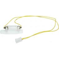 SOLO szerelt izzó SOLO kültéri hang-fényjelzőbe,12V, 5W, szofita. kábellel, csatlakozóval.
