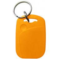 SOYAL AM KeyTag No.1 13.56 MHz sárga Kulcstartós Proximity tag, téglalap alakú, F08, 13.56 MHz sárga.