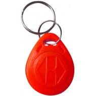 SOYAL AM KeyTag No.2 125 kHz piros Kulcstartós Proximity tag, mini csepp alakú,  TK4100, 125kHz, piros.