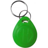 SOYAL AM KeyTag No.2 125 kHz zöld Kulcstartós Proximity tag, mini csepp alakú,  TK4100, 125kHz, zöld.