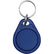 SOYAL AM KeyTag No.3 125 kHz kék Kulcstartós Proximity tag, lapos csepp alakú,  TK4100, 125kHz, kék.
